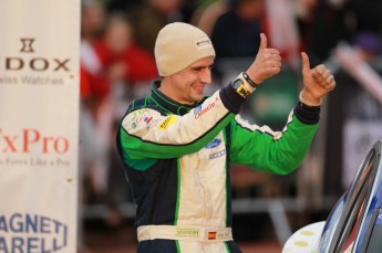 © North One Sport Limited 2010/ Octane Photographic Ltd. 2010 WRC Great Britain Podium, Sunday 14th November 2010. Digital ref : 0114CB1D1052