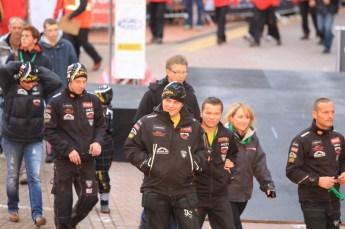 © North One Sport Limited 2010/ Octane Photographic Ltd. 2010 WRC Great Britain Podium, Sunday 14th November 2010. Digital ref : 0114CB1D0933