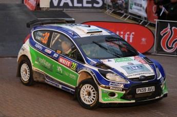 © North One Sport Limited 2010/ Octane Photographic Ltd. 2010 WRC Great Britain Podium, Sunday 14th November 2010. Digital ref : 0114LW1D1094