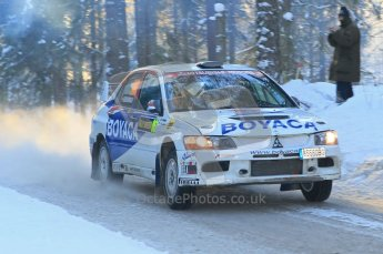© North One Sport Ltd.2010 / Octane Photographic Ltd.2010. WRC Sweden SS9 Run ii. February 13th 2010. Digital Ref : 0209cb1d2040