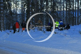 © North One Sport Ltd.2010 / Octane Photographic Ltd.2010. WRC Sweden SS9. February 13th 2010. Digital Ref : 0133CB1D1907