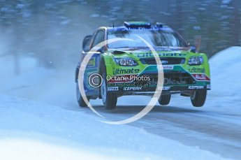 © North One Sport Ltd.2010 / Octane Photographic Ltd.2010. WRC Sweden SS9. February 13th 2010. Digital Ref : 0133CB1D1921