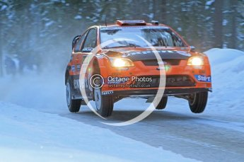 © North One Sport Ltd.2010 / Octane Photographic Ltd.2010. WRC Sweden SS9. February 13th 2010. Digital Ref : 0133CB1D1931