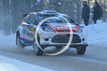 © North One Sport Ltd.2010 / Octane Photographic Ltd.2010. WRC Sweden SS9. February 13th 2010. Digital Ref : 0133CB1D1966