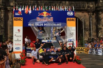 © North One Sport Ltd. 2010 / Octane Photographic Ltd. 2010 WRC Germany Podium, 23st August 2010. Digital Ref: 0212lw7d8447