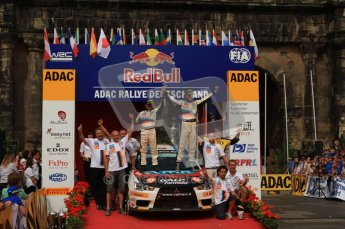 © North One Sport Ltd. 2010 / Octane Photographic Ltd. 2010 WRC Germany Podium, 23st August 2010. Digital Ref: 0212lw7d8526