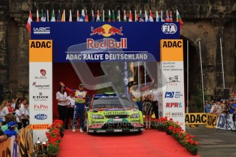 © North One Sport Ltd. 2010 / Octane Photographic Ltd. 2010 WRC Germany Podium, 23st August 2010. Digital Ref: 0212lw7d8720
