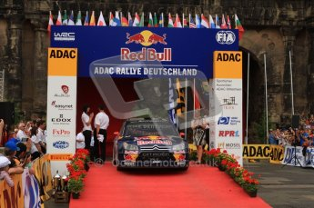 © North One Sport Ltd. 2010 / Octane Photographic Ltd. 2010 WRC Germany Podium, 23st August 2010. Digital Ref: 0212lw7d8738