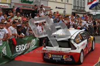 © North One Sport Ltd. 2010 / Octane Photographic Ltd. 2010 WRC Germany Podium, 23st August 2010. Digital Ref: 0212lw7d9462