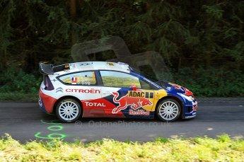 © North One Sport Ltd.2010 / Octane Photographic Ltd. 2010 WRC Germany SS13 Freisen Westrich II, 21st August 2010, Sebastien Loeb/Daniel Elena, Citroen C4 WRC. Digital Ref : 0161lw7d6478