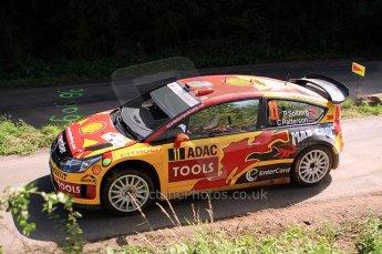 © North One Sport Ltd.2010 / Octane Photographic Ltd. 2010 WRC Germany SS13 Freisen Westrich II, 21st August 2010. Digital Ref : 0161lw7d6705