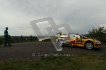 © North One Sport Ltd. 2010 / Octane Photographic Ltd. 2010 WRC Germany SS17, 22st August 2010. Digital Ref: 0211cb1d8907