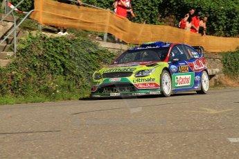 © North One Sport Limited 2010/Octane Photographic Ltd. 2010 WRC Germany SS6 Moseland II.  20th August 2010. Digital Ref : 0159lw7d5183