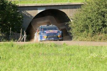 © North One Sport Limited 2010/Octane Photographic Ltd.  2010 WRC Germany SS9 Freisen Westrich I, Kimi Raikkonen/Kaj Lindstrom, Citroen C4 WRC. 21st August 2010. Digital Ref : 0160cb1d5545