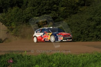 © North One Sport Limited 2010/Octane Photographic Ltd. 2010 WRC Germany SS9 Freisen Westrich I, Sebastien Loeb/Daniel Elena, Citroen C4 WRC.. 21st August 2010. Digital Ref : 0160LW7D5361