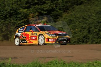 © North One Sport Limited 2010/Octane Photographic Ltd. 2010 WRC Germany SS9 Freisen Westrich I. 21st August 2010. Digital Ref : 0160LW7D5450