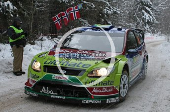 © North One Sport Ltd.2010 / Octane Photographic Ltd.2010. WRC Sweden shakedown stage. February 11th 2010. Digital Ref : 0129CB1D1219