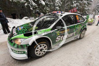 © North One Sport Ltd.2010 / Octane Photographic Ltd.2010. WRC Sweden shakedown stage. February 11th 2010. Digital Ref : 0129CB1D1230
