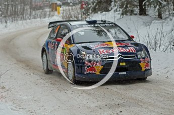 © North One Sport Ltd.2010 / Octane Photographic Ltd.2010. WRC Sweden shakedown stage. February 11th 2010. Digital Ref : 0129CB7D1205