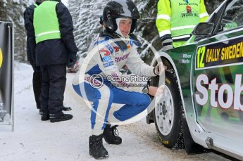 © North One Sport Ltd.2010 / Octane Photographic Ltd.2010. WRC Sweden shakedown stage. February 11th 2010. Digital Ref : 0129CB1D1270