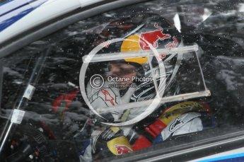 © North One Sport Ltd.2010 / Octane Photographic Ltd.2010. WRC Sweden shakedown stage. February 11th 2010, Kimi Raikkonen/Kaj Lindstrom, Citroen C4 WRC. Digital Ref : 0129CB1D1293