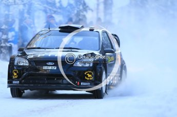 © North One Sport Ltd.2010 / Octane Photographic Ltd.2010. WRC Sweden SS3. February 12th 2010. Digital Ref : 0130CB1D1725