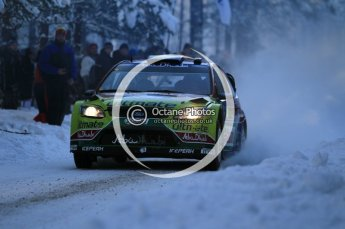 © North One Sport Ltd.2010 / Octane Photographic Ltd.2010. WRC Sweden SS3. February 12th 2010. Digital Ref : 0130CB1D1733
