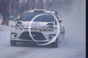 © North One Sport Ltd.2010 / Octane Photographic Ltd.2010. WRC Sweden SS3. February 12th 2010. Digital Ref : 0130CB1D1765