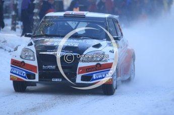 © North One Sport Ltd.2010 / Octane Photographic Ltd.2010. WRC Sweden SS3. February 12th 2010. Digital Ref : 0130CB1D1778