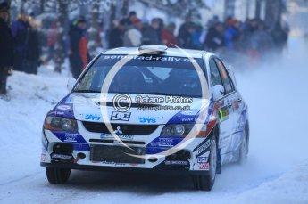 © North One Sport Ltd.2010 / Octane Photographic Ltd.2010. WRC Sweden SS3. February 12th 2010. Digital Ref : 0130CB1D1790