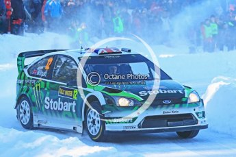 © North One Sport Ltd.2010 / Octane Photographic Ltd.2010. WRC Sweden SS12. February 13th 2010. Digital Ref : 0134CB1D2131