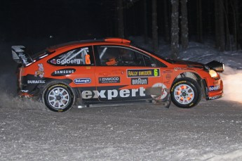 © North One Sport Ltd.2010 / Octane Photographic Ltd.2010. WRC Sweden SS15. February 13th 2010. Digital Ref : 0135CB1D2206