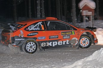 © North One Sport Ltd.2010 / Octane Photographic Ltd.2010. WRC Sweden SS15. February 13th 2010. Digital Ref : 0135CB1D2207