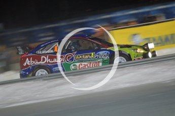 © North One Sport Ltd.2010 / Octane Photographic Ltd.2010. WRC Sweden SS1 Karlstad Stadium. February 11th 2010. Digital Ref : 0131CB1D1530