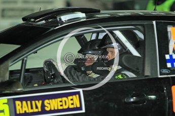 © North One Sport Ltd.2010 / Octane Photographic Ltd.2010. WRC Sweden SS1 Karlstad Stadium. February 11th 2010. Digital Ref : 0131CB1D1536