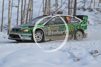 © North One Sport Ltd.2010 / Octane Photographic Ltd.2010. WRC Sweden SS21 February 14th 2010. Digital Ref : 0137CB1D2858