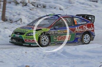 © North One Sport Ltd.2010 / Octane Photographic Ltd.2010. WRC Sweden SS21 February 14th 2010. Digital Ref : 0137CB1D2966