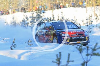 © North One Sport Ltd.2010 / Octane Photographic Ltd.2010. WRC Sweden SS5. February 12th 2010. Digital Ref : 0132CB1D1839