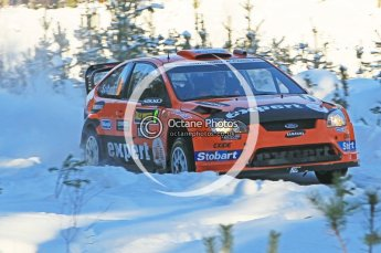 © North One Sport Ltd.2010 / Octane Photographic Ltd.2010. WRC Sweden SS5. February 12th 2010. Digital Ref : 0132CB1D1851