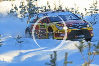 © North One Sport Ltd.2010 / Octane Photographic Ltd.2010. WRC Sweden SS5. February 12th 2010. Digital Ref : 0132CB1D1858