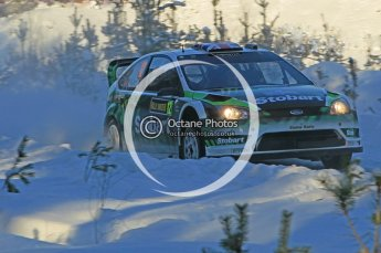© North One Sport Ltd.2010 / Octane Photographic Ltd.2010. WRC Sweden SS5. February 12th 2010. Digital Ref : 0132CB1D1863