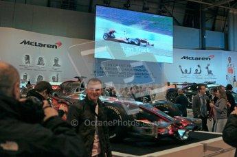 © Octane Photographic Ltd. Autosport International 2011, January 15th 2011. McLaren Display. Digital ref : 0045CB1D5203