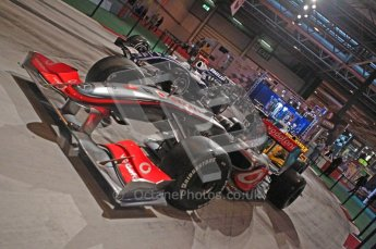 © Octane Photographic Ltd. Autosport International 2011, January 15th 2011. F1 Racing display, McLaren showcar. Digital ref : 0045f1-display-1