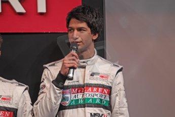 World © Octane Photographic Ltd. McLaren Autosport BRDC Young Drivers. January 14th 2011. Luciano Bacheta. Digital Ref : 0871cb1d0001