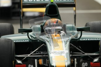 © Octane Photographic Ltd. 2011. Belgian Formula 1 GP, GP2 Race 2 - Sunday 28th August 2011. Davide Valsecchi of Caterham Racing AirAisa. Digital Ref : 0205cb1d0062