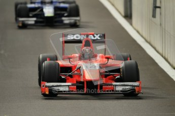 © Octane Photographic Ltd. 2011. Belgian Formula 1 GP, GP2 Race 2 - Sunday 28th August 2011. Josef Krai of Arden International coming out of pits. Digital Ref : 0205cb1d0109
