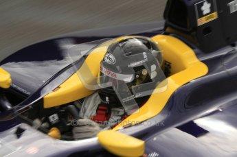 © Octane Photographic Ltd. 2011. Belgian Formula 1 GP, GP2 Race 2 - Sunday 28th August 2011. Adam Carroll of Super Nova cockpit shot. Digital Ref : 0205lw7d6832