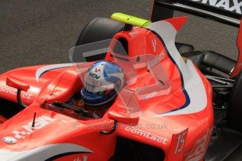 © Octane Photographic Ltd. 2011. Belgian Formula 1 GP, GP2 Race 2 - Sunday 28th August 2011. Jolyon Palmer of Arden International cockpit shot. MSV sponsored car. Digital Ref : 0205lw7d6880
