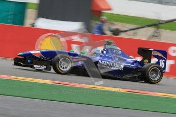 World © Octane Photographic Ltd. 2011. Belgian GP, GP3 Practice session - Saturday 27th August 2011. Leonardo Cordeiro of Carlin. Digital Ref : 0204lw7d3825