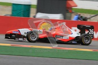 World © Octane Photographic Ltd. 2011. Belgian GP, GP3 Practice session - Saturday 27th August 2011. Mitch Evans of MW Arden. Digital Ref : 0204lw7d3859